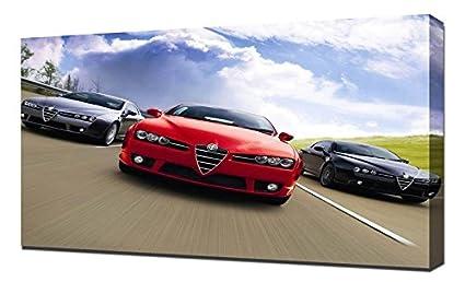 Amazon Com Lilarama Usa Alfa Romeo Brera S Interior Canvas Art