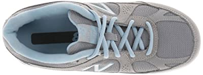 New Balance Women's WW877 Walking Shoe,Silver,9 D US