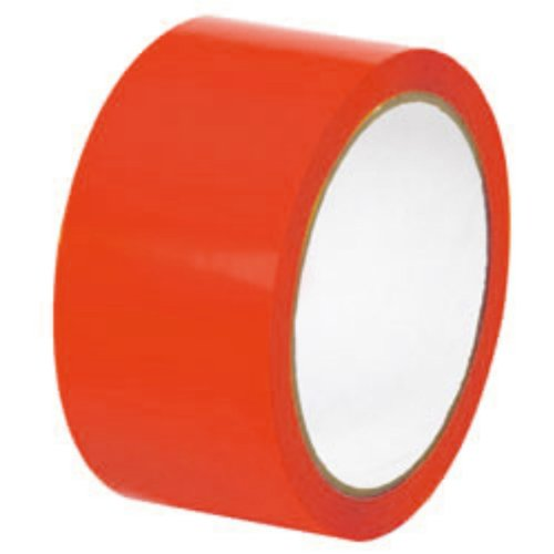 Colored Packing Tape Red Shipping Tapes 2'' x 110 Yds 2 Mil 360 Rolls (10 cases) by PackagingSuppliesByMail