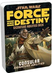 Star Wars RPG: Force and Destiny - Consular Signature Abilities Specialization Deck (Deck Signature)