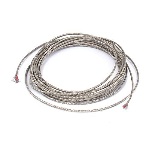 Uxcell Temperature Sensor Tester K-Type Thermocouple Extension Wire 4.5M