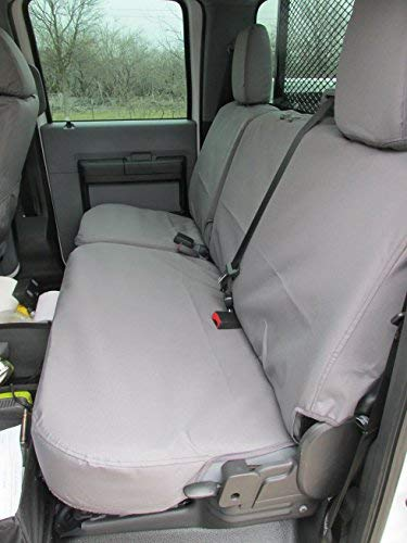 Durable Gray Endura Material for Comfort and Reliability on Your Seats Model Specific Durafit Seat Covers FD79-C8-FBA Custom-fit for a 2013-2015 Ford F250//F350//F450//F550 Crew Cab Seat Cover Set