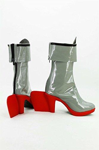 Bromeo Kantai Collection Shimakaze Cosplay Schuhe Stiefel Stiefeletten