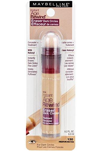 Maybelline New York Instant Age Rewind Eraser Dark Circles Treatment Concealer Makeup, Medium, 2 count by Maybelline New York (Image #2)