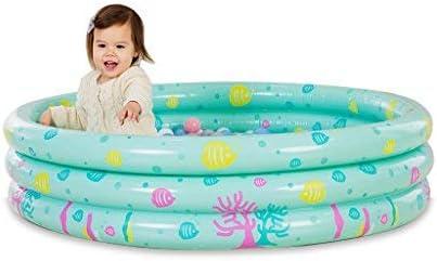 ZHAS bañera Piscina Inflable Bebé Piscina Cubierta Niños Casa Bola ...