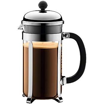 Amazon com: Bodum 1548-01US Brazil French Press Coffee and