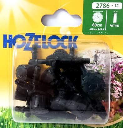 Aspersor en línea 360° Consumo ajustable Hozelock riego jardín jardín jardín exterior: Amazon.es: Jardín