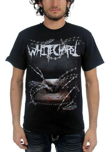 WhiteChapel Mens The Somatic Defilement T-Shirt, Size: Small, Color Black