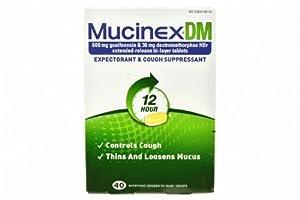 Mucinex DM, Expectorant and Cough Suppressant