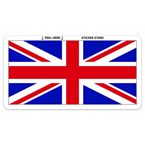 UK British Union Jack Flag Sticker