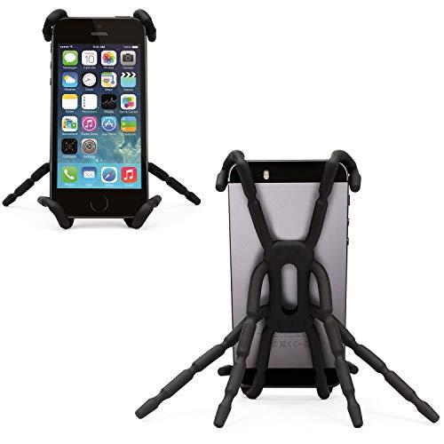 Spider Phone Holder, Smartphone Mount Holder - Flexible Portable Adjustable Grip Case, Mount Stand for Micromax Canvas - Duet Pedestal
