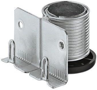 Tragkraft 150 kg Gedotec Sockelfu/ß Sockel-H/öhenversteller zum Einbohren /& Schrauben 1 St/ück Sockel-Verstellfu/ß Stahl massiv M/öbelf/ü/ße K/üche mit mit Auflagewinkel +20 mm h/öhenverstellbar