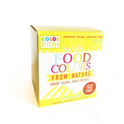 yellow food dye - 6