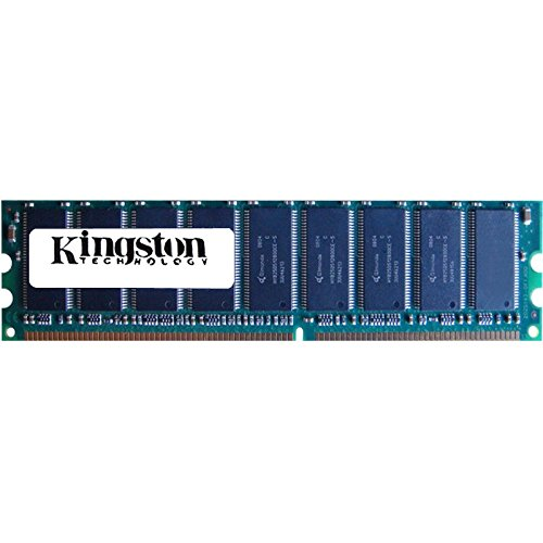 Kingston KVR400AK2/2GR 2GB 2 x 1GB PC3200U DDR 400 CL3 Non-ECC Unbuff Memory (Ep 2gb Ddr Sdram Memory)