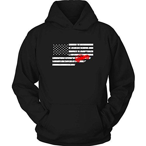 USA Flag Unisex Jeep Grand Cherokee Hoodie ZJ