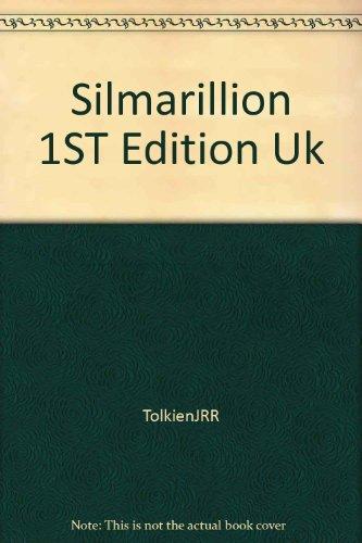 Silmarillion 1ST Edition Uk