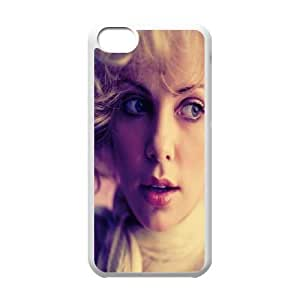 iPhone 5c Cell Phone Case White Charlize Theron SLI_524081