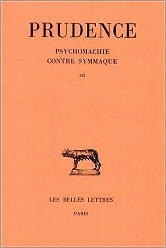 Téléchargement Oeuvres, tome III : Psychomachie - Contre Symmaque pdf epub