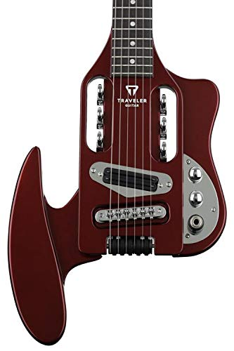 Traveler Guitar 6 String Electric Guitar, Right, Wine Red (SPD WRDMT)