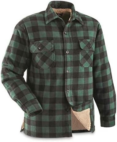 پیراهن CPO راهنمای Gear Mens Sherpa Lined Fleece