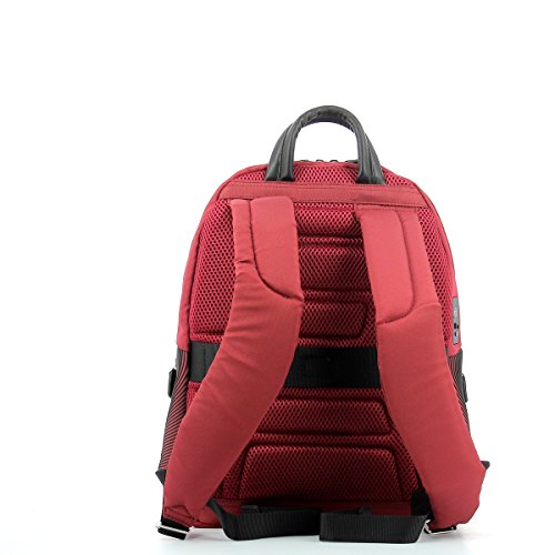 Piquadro Coleos Rucksack, Rot (Rosso) Rot (Rosso)