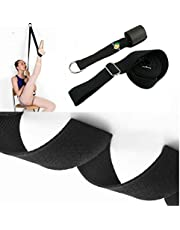 Ballet Stretch Band for Tap Dancing,Taekwondo and Gymnastics to Warm Up,Physical Therapy Recovery and Improve Leg and Hip Stretching(1set)