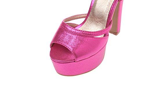 Adee - Sandalias de vestir para mujer rosa/rojo