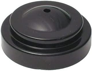 "product image for Plastic desk base for 4x6"" miniature flag (1 hole black)"