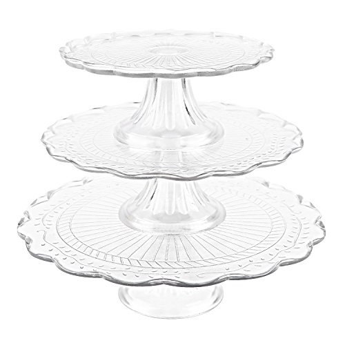 Stackable Cupcake Dessert Platters Display