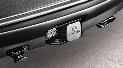 411EKGEKgeL amazon com genuine 2011 2013 toyota highlander hybrid tow hitch 2011 Toyota Highlander Wiring Harness at beritabola.co