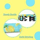 azuza Dog Collar and Leash Set, Lemon Patterns on
