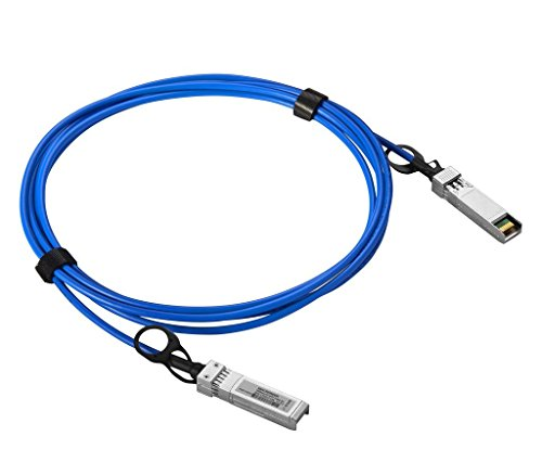 Macroreer for Ubiquiti 0.5m(1.64ft) Blue Color 10GbE SFP+ Direct Attach Copper Cable