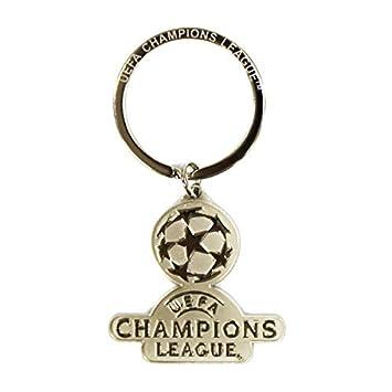 UEFA Champions League Logo Keyring Silver 0132: Amazon co uk