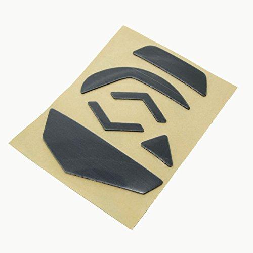 Feicuan Alfombrilla de ratón Feet patines Teflon Sliders Pad para Gaming Ratón Logitech G502 (0.6mm,Pack of 2)