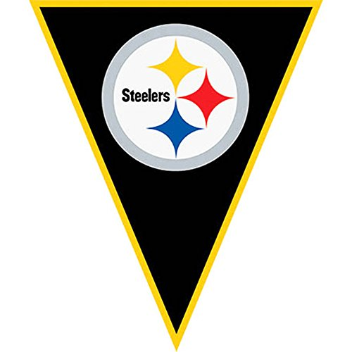 BANNER NFL Pittsburgh Steelers Pennant (1ct) ()