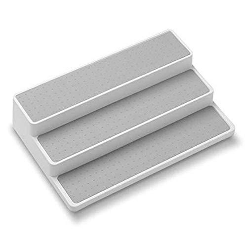 Rack para sazonar, 3 – Escalera escalonada Almacenamiento de PP Estante de especias Artículos para el hogar Rack de…