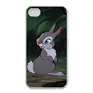iphone4 4s Phone Case White Bambi Thumper ES3TY7837559