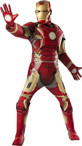 Iron Man Mark 43 Marvel Men Costume Multi, Standard