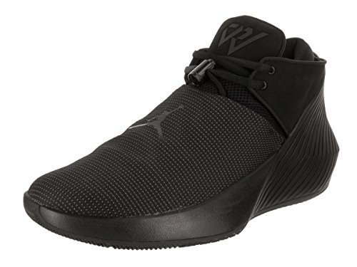 Nike Jordan Men's Why Not Zer0.1 Low Black/Black White Basketball Shoe 13 Men US
