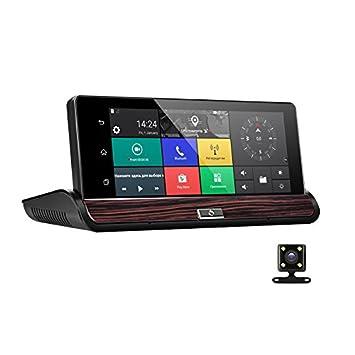 Full HD coche DVR GPS Android 7 Inch Touch Dual Cámara WIFI Auto coche de la cámara centro consola coche camión autobús cámara: Amazon.es: Electrónica