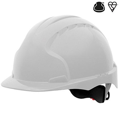 Blanc JSP Aje170 000 100/EVO3/Revolution de roue /à cliquet casque