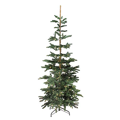Northlight 7.5' Pre-Lit Layered Noble Fir Artificial Christmas Tree - Warm Clear LED Lights ()