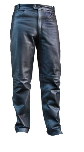 Leather Riding Pants Motorcycle - 1