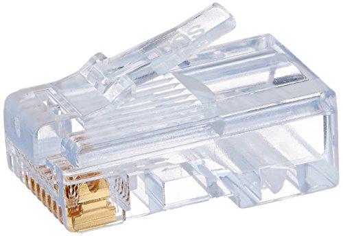 Platinum Tools 100003BG EZ-RJ45 Cat5e Connector. 100/Bag.(Pack of 100) - Catv Tool Bag