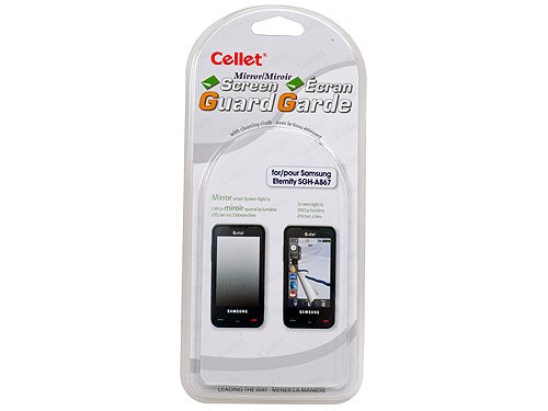(Cellet Super Strong Maximum Protection Mirror Screen Guard/Protector for Samsung Eternity SGH-A867)