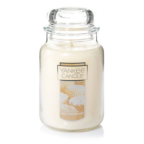 Yankee Candle Large Jar Candle, Buttercream