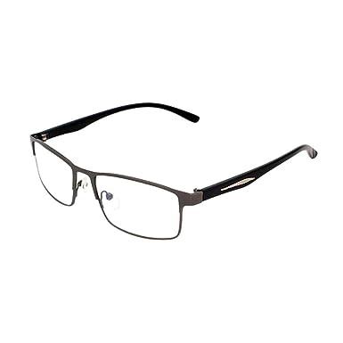 Deylaying Élégant Unisexe Myopie Des lunettes Nearsighted Courte vue  Eyewear Pouvoir -1.00~-6.00 Lunettes pour Étudiants Enseignants (Ces sont  pas lunettes ... 41d5c55b306