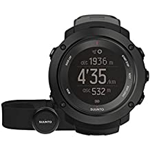 SUUNTO Unisex Ambit3 Vertical Multisport GPS Watch with Heart Rate Monitor/ Altimeter/ Compass/ Temperature/ Sunrise-Sunset and Storm Alarm for Planning and Tracking Your Elevation Gain with Ease