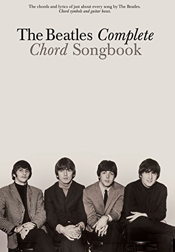 The Beatles Complete Chord Songbook Kindle Edition By The Beatles