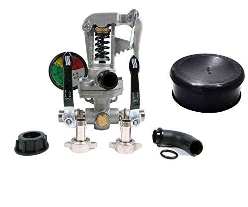 Bundle - 2 Items: Hypro 9910-GS40GI Pressure Regulator with 9910-650670 Dampener Diaphragm